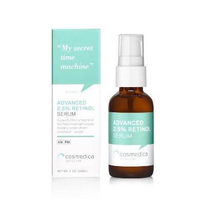 Cosmedica Skincare Advanced 2.5% Retinol Facial Serum - 1oz
