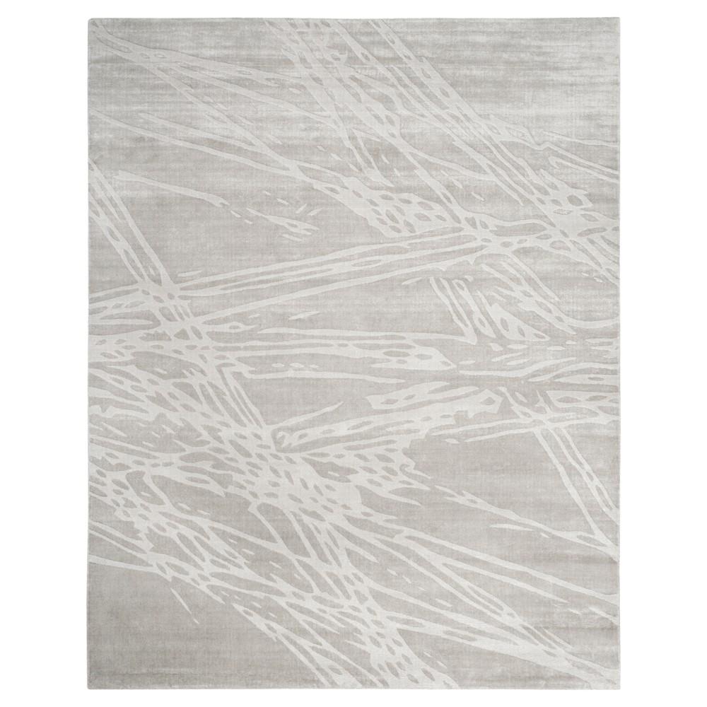 Gray Shapes Woven Area Rug 9'x12' - Safavieh