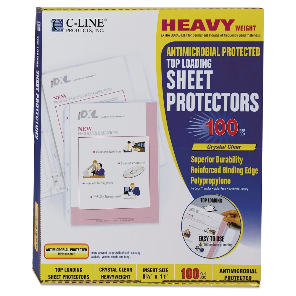 Document Sleeve Clear C-Line