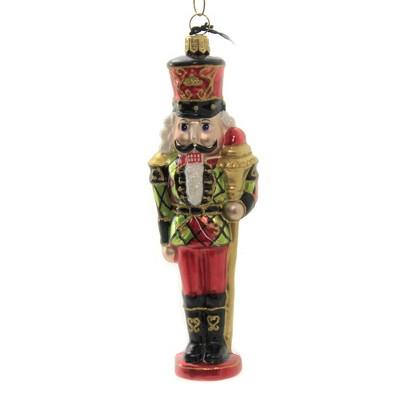 Joy To The World 6 5 Tartan Plaid Nutcracker Ornament Scottish Regal Tree Ornaments Target
