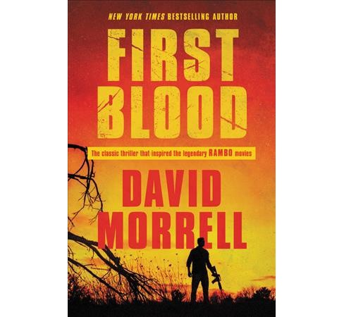 First Blood -  Reprint by David Morrell (Paperback) - image 1 of 1
