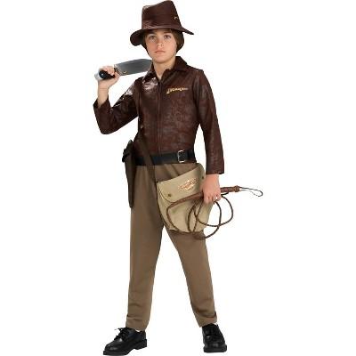 Kids' Indiana Jones Deluxe Halloween Costume One Size