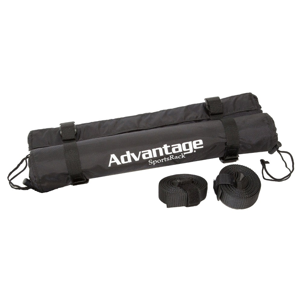 Image of Advantage Sports Rack Roof Rack Cargo Cushions - 18, Black