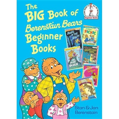 The Big Book of Berenstain Bears Beginner Bo ( Beginner Books) (Hardcover) by Stan Berenstain
