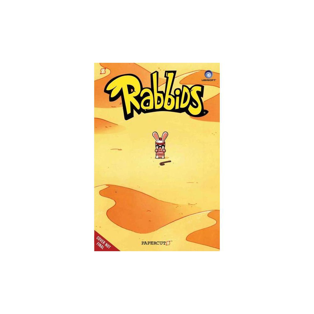 Rabbids 3 - (Rabbids) by Eric Esquivel (Hardcover)