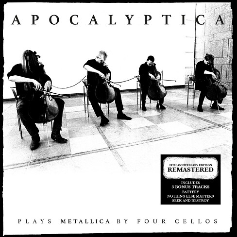 Apocalyptica - Plays metallica by four cellos (CD) - image 1 of 1