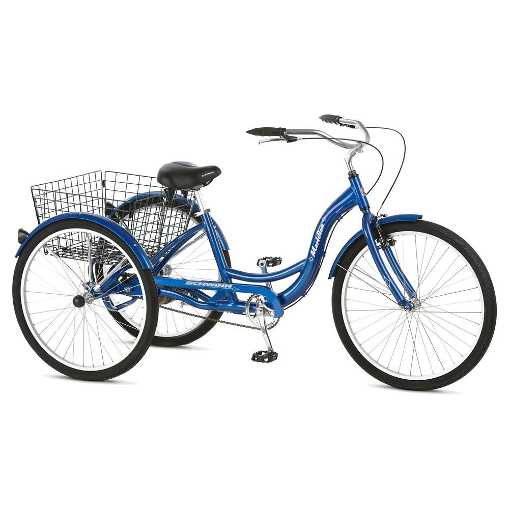 Schwinn Adult Meridian 26 3-Wheel Bike - Blue