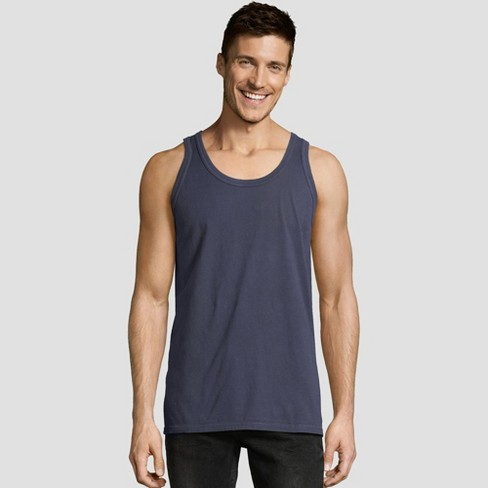 732ede85a179fb Hanes Men s 1901 Garment Dyed Tank Top   Target