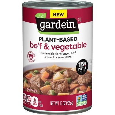Gardein Beef Country Vegetable Soup - 15oz