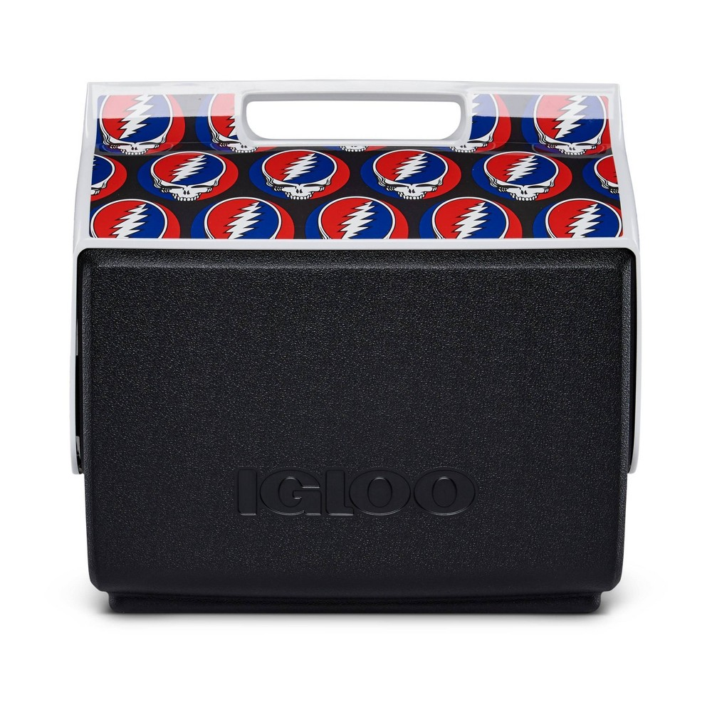 Igloo Playmate Classic Grateful Dead Steal Your Face Portable Cooler