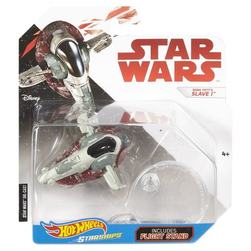 Hot Wheels Star Wars: The Last Jedi - Boba Fett's Slave 1 Starship Vehicle - image 1 of 1