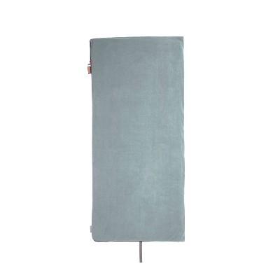 Coleman Strat 50 Degree Fleece Sleeping Bag - Gray