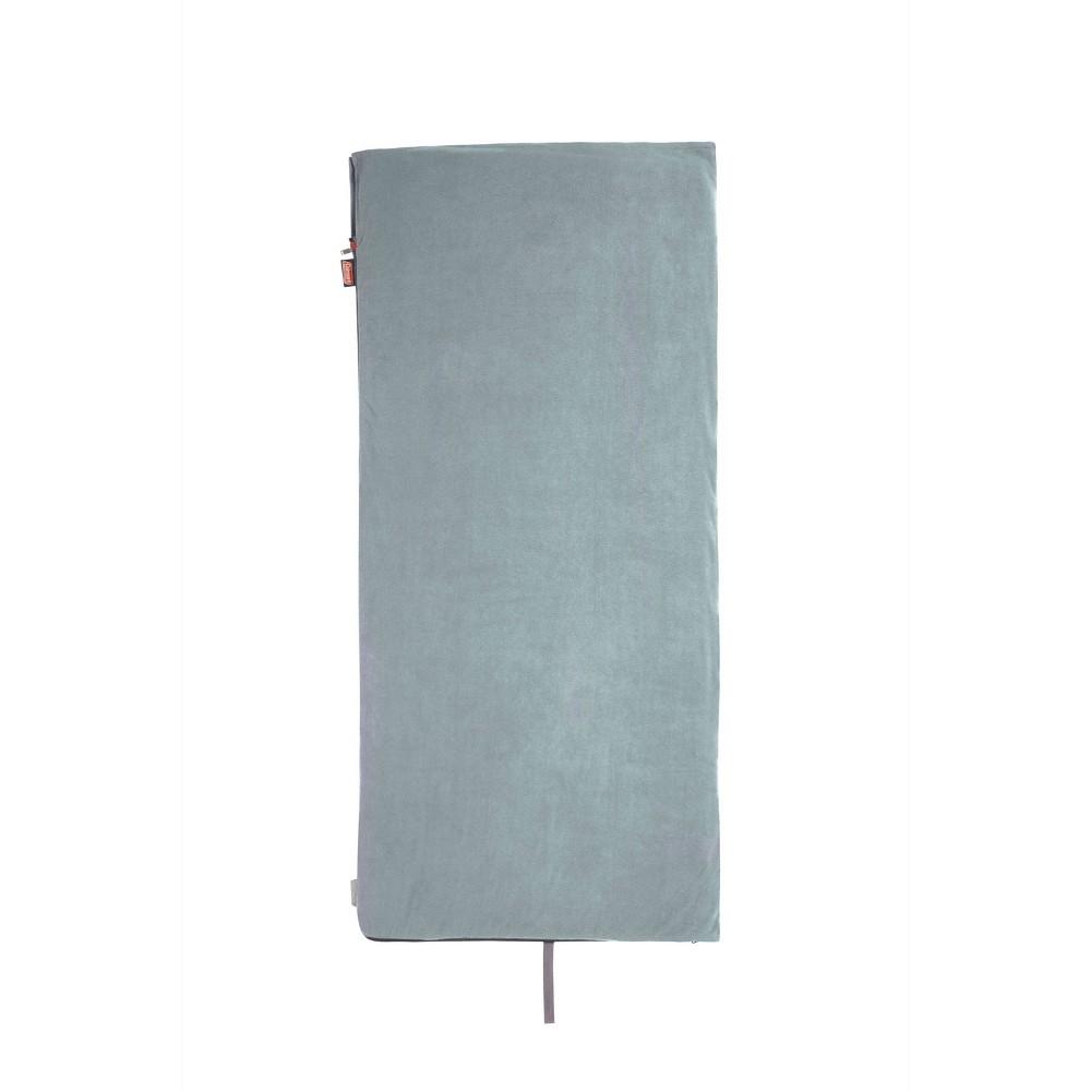 Coleman Strat 50 Degree Fleece Sleeping Bag Gray