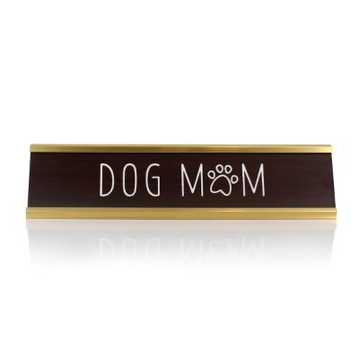 Dog Mom Decorative Plaque