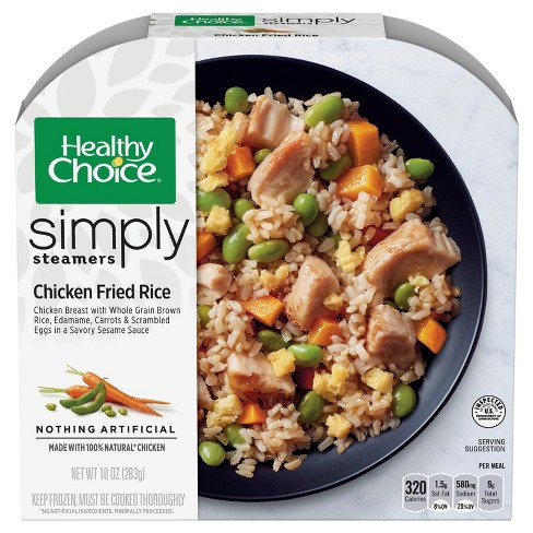 Healthy Choice Simply Steamers Chicken Fried Rice - 10oz - image 1 of 1