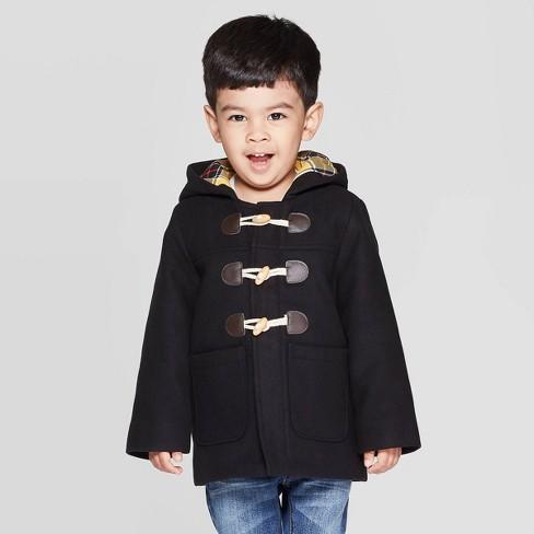Toddler Boys' Fashion Jacket - Cat & Jack™ Black - image 1 of 3