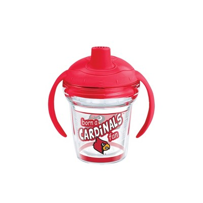 Tervis Louisville Cardinals Born A Fan 6oz Sippy Cup with Lid