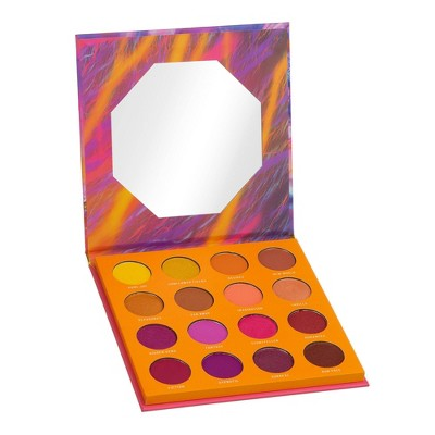 Color Story 16 Shade Pressed Pigment Eyeshadow Palette - Escapism - 0.54oz