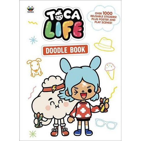 Toca Life Doodle Book - image 1 of 1