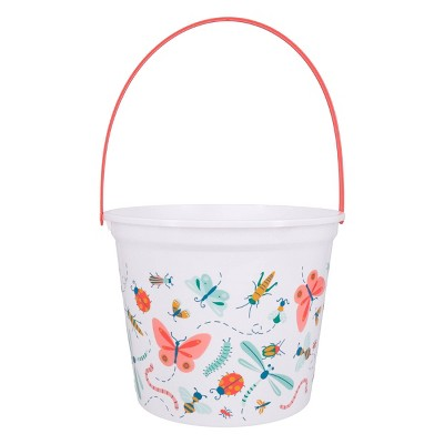 Jumbo Plastic Easter Bucket Printed Bugs and Insects - Spritz™