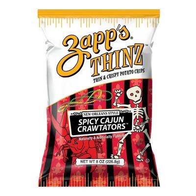 Utz Zapp's Thinz Spicy Crawtators - 8oz
