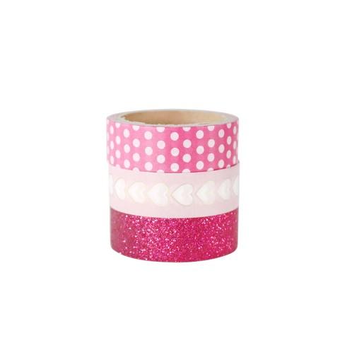 3ct Washi Tape Pink - Spritz™ - image 1 of 1