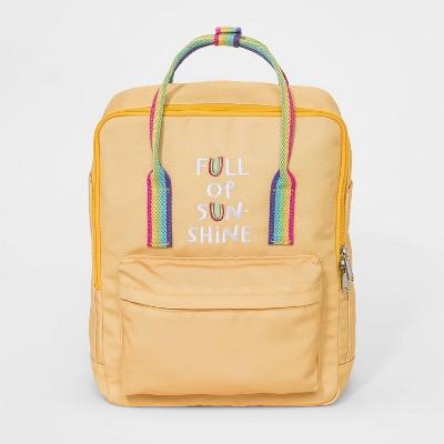 Girls' Full Of Sunshine Backpack - Cat & Jack™ Yellow
