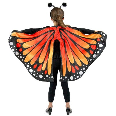 Princess Paradise Girls Monarch Butterfly Cape Costume
