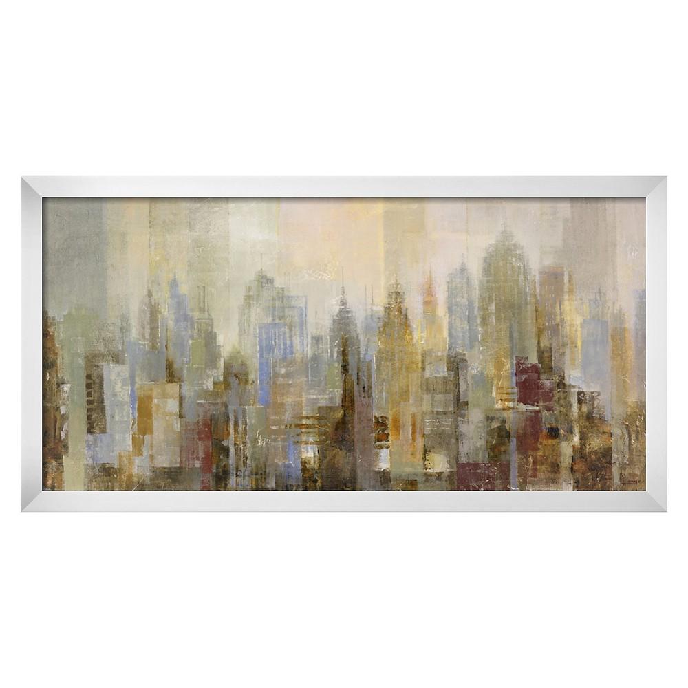 Art.com Midtown by Longo - Framed Art Print, Brown
