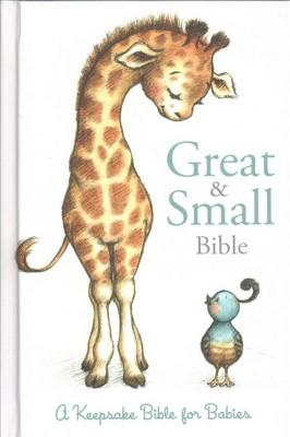Great & Small Bible : Christian Standard Bible, A Keepsake Bible for Babies - (Hardcover)