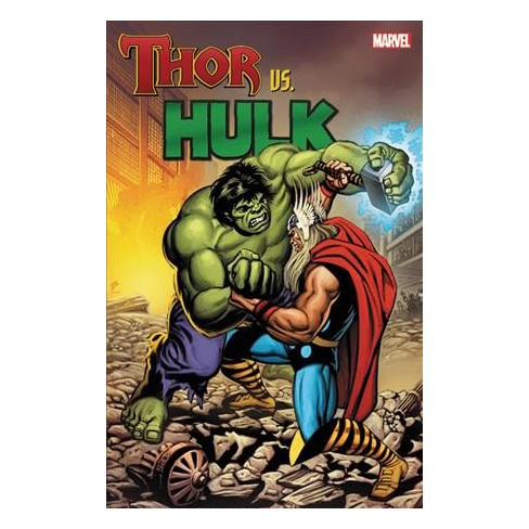 thor vs hulk paperback stan lee roy thomas steve englehart
