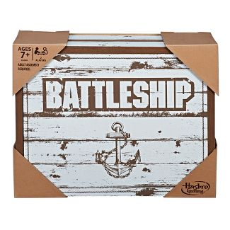 Battleship Game: Rustic Series Edition