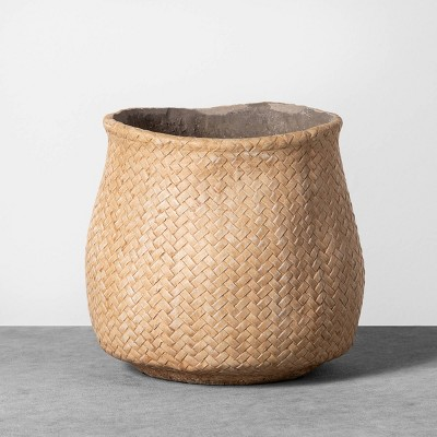 Small Planter Woven Cement - Hearth & Hand™ with Magnolia