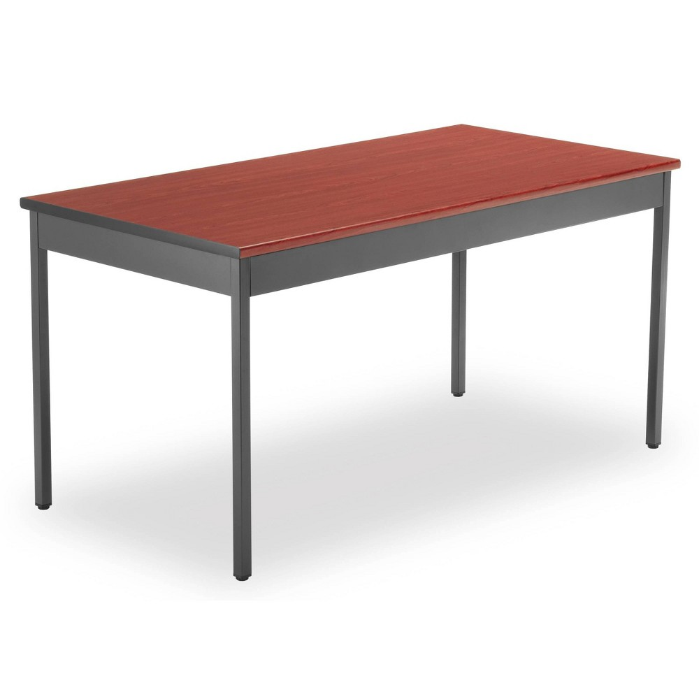 "Image of ""30"""" x 60"""" Core Collection Multi Purpose Utility Table Cherry - OFM, Red"""