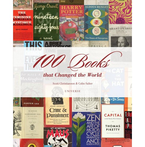 100 Books That Changed the World -  by Scott Christianson & Colin Salter (Hardcover) - image 1 of 1
