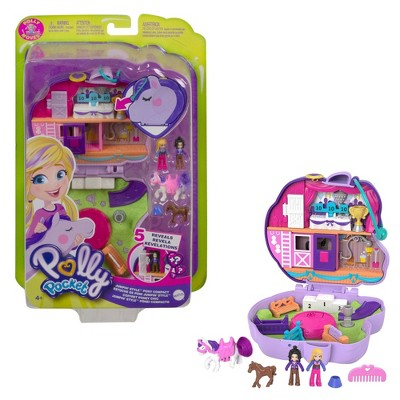 ​Polly Pocket Jumpin' Style Pony Horse ShowCompact