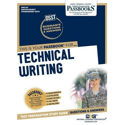 Technical Writing - by  National Learning Corporation (Paperback) - image 1 of 1