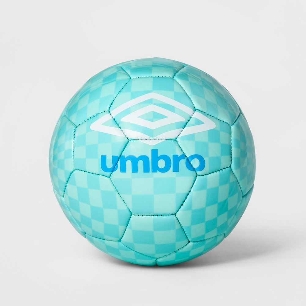 Umbro Heritage Size 1 Check Soccer Ball - Blue