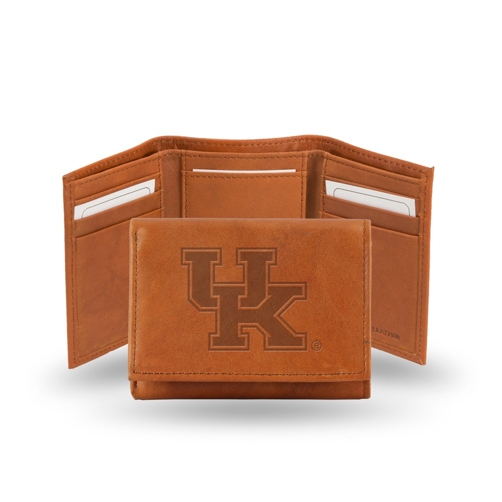 Kentucky Wildcats Rico Industries Embossed Leather Trifold Wallet