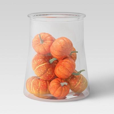 11pc Decorative Faux Pumpkin Vase Filler Orange - Threshold™