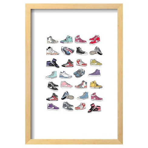 "Trainers By Hanna Melin Framed Poster 13""X19"" - Art.Com - image 1 of 4"