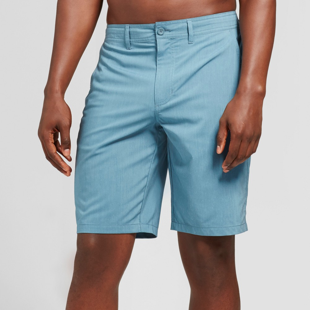 Men's Fiat Hybrid Shorts 10.5 - Goodfellow & Co Blue 33