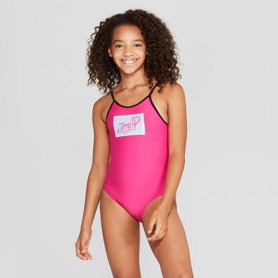9ceea4ac8a Girls' Flip Sequins JoJo Siwa One Piece Swimsuit – Pink M – BrickSeek