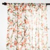 Tropical Floral Sheer Window Curtain Panels - Opalhouse™ - image 2 of 4