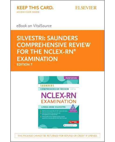 Saunders Comprehensive Review for the NCLEX-RN Examination Evolve Access Code / Saunders Comprehensive - image 1 of 1