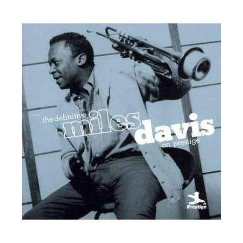 Miles Davis - Definitive Miles Davis on Prestige (CD) - image 1 of 1