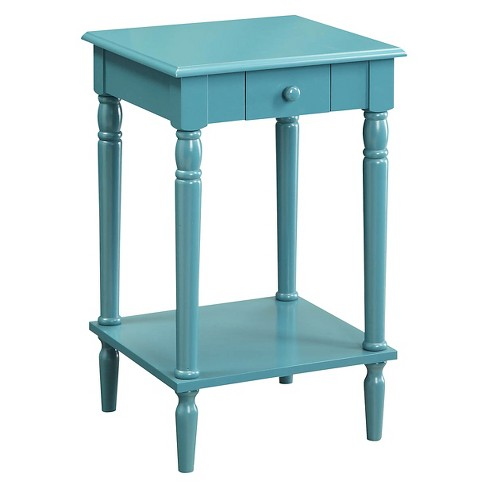 French Country End Table Blue - Johar Furniture - image 1 of 3