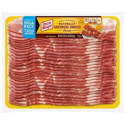 Oscar Mayer Mega Pack Hardwood Smoked Bacon - 22oz