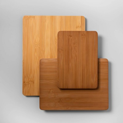 3pc Bamboo Cutting Board Set - Made By Design™