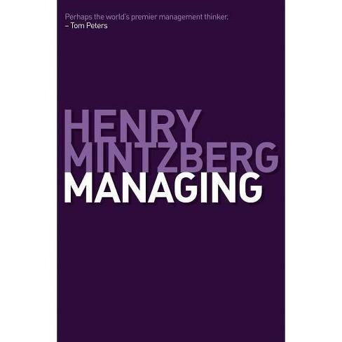 Managing - by  Henry Mintzberg (Hardcover) - image 1 of 1